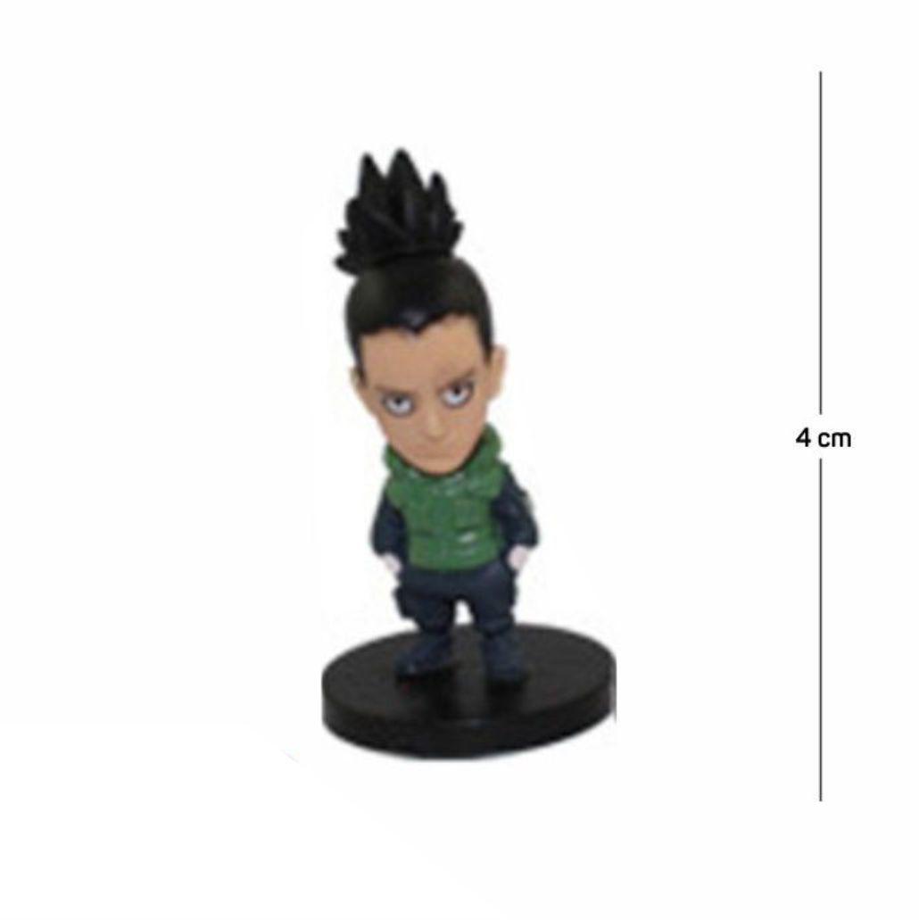 Action Figure Naruto Shikamaru 4CM PVC