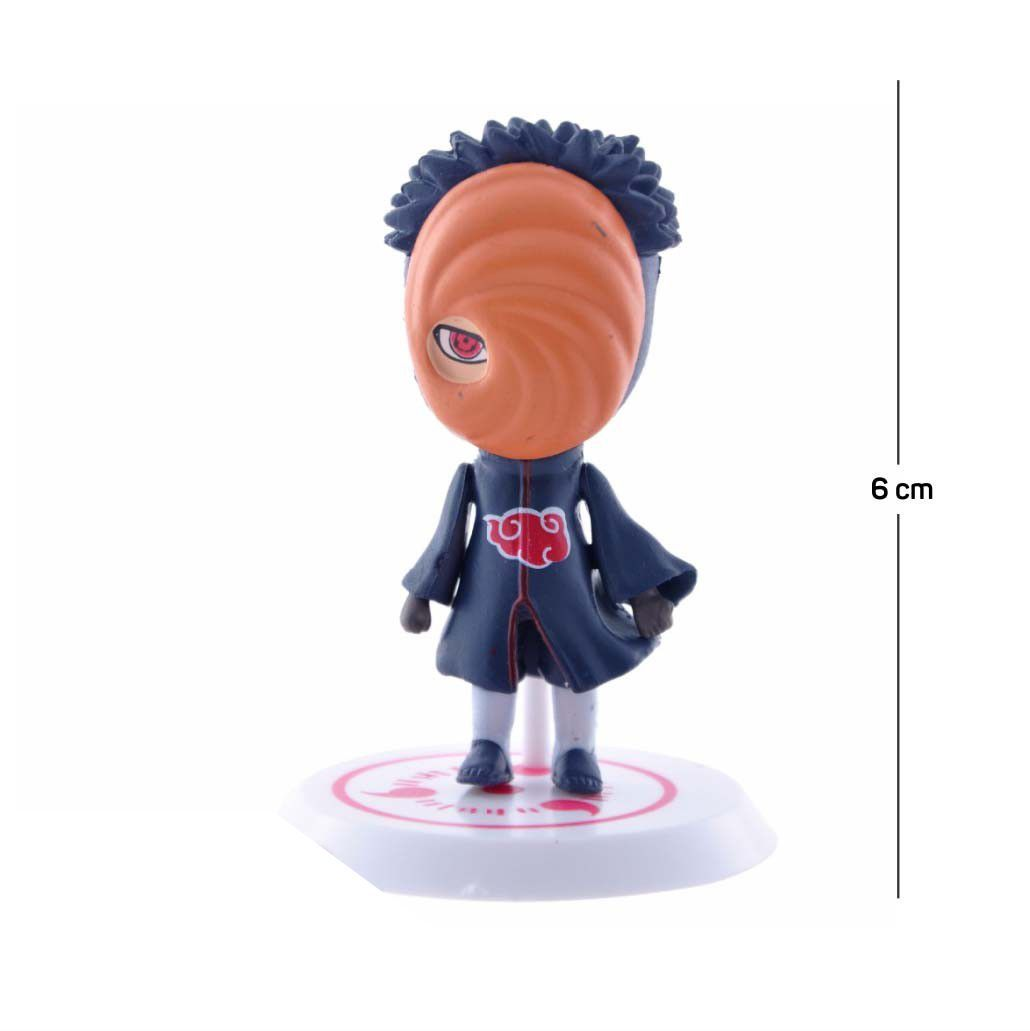 Action Figure Naruto Tobi Shippuden 6CM PVC
