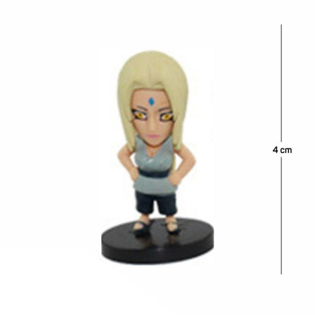 Action Figure Naruto Tsunade 4CM PVC