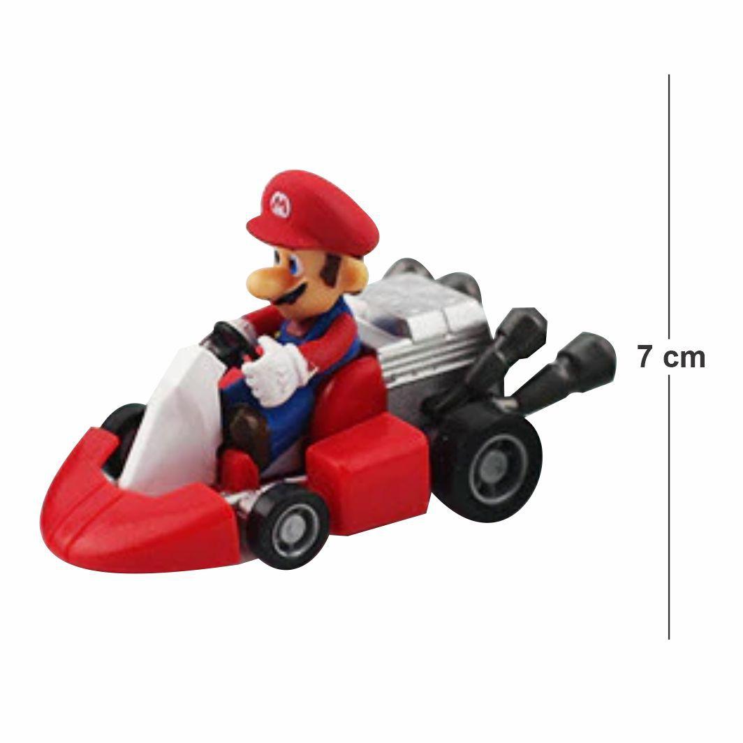 Action Figure Nintendo Kart Mario 7CM