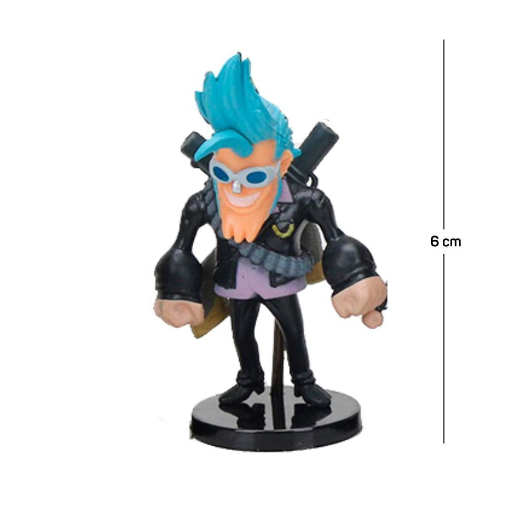 Action Figure One Piece Franky Modelo 1 6CM PVC