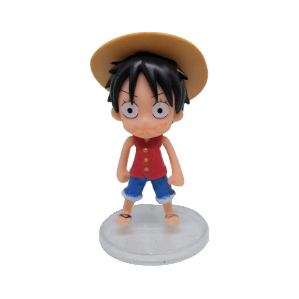 Action Figure One Piece Luffy 3 10CM PVC
