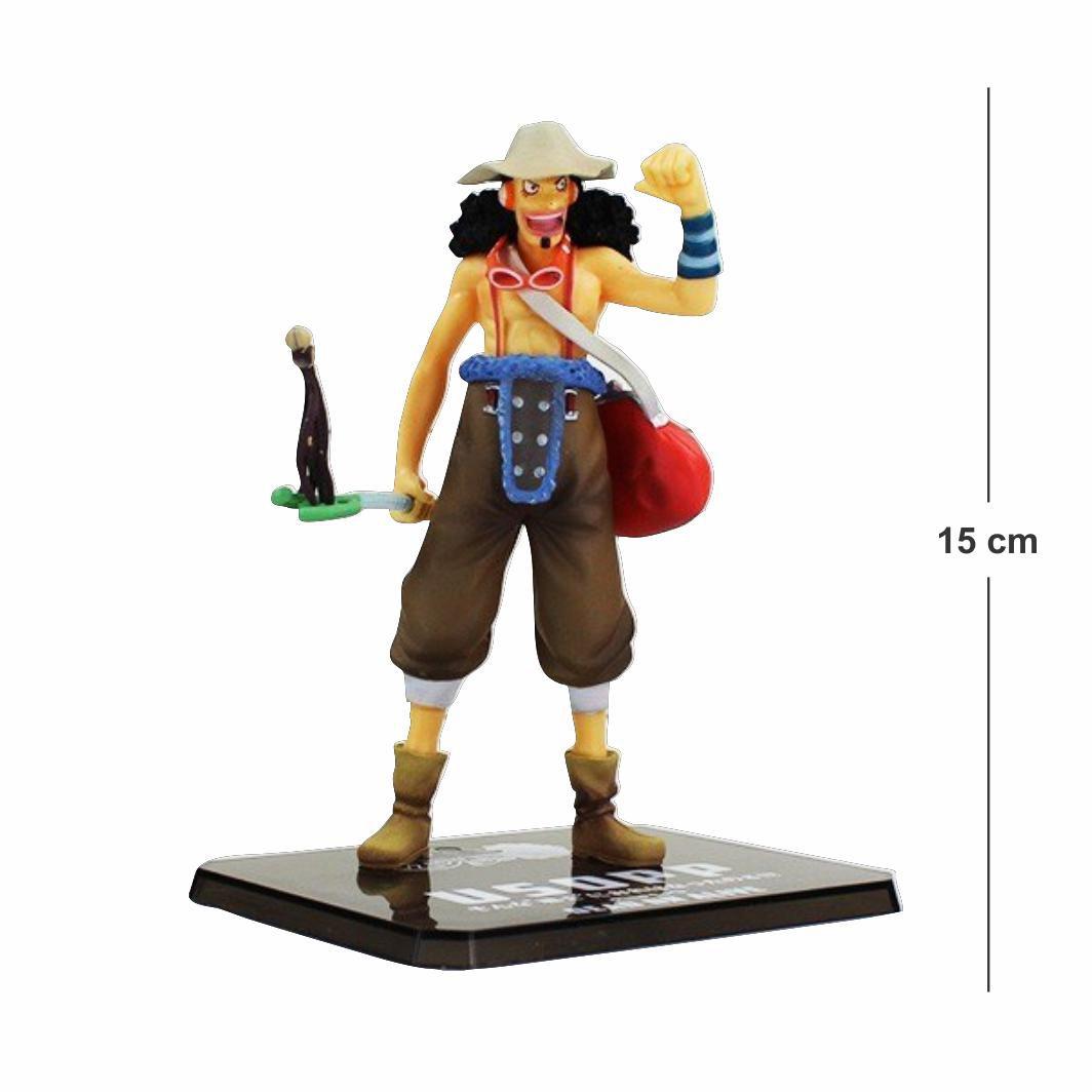 Action Figure One Piece Usopp 15CM - Dino Games - A Loja GAMER que ... c2e695c1ea2
