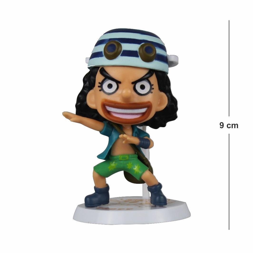 Action Figure One Piece Usopp 9CM - Dino Games - A Loja GAMER que ... f52d9768721
