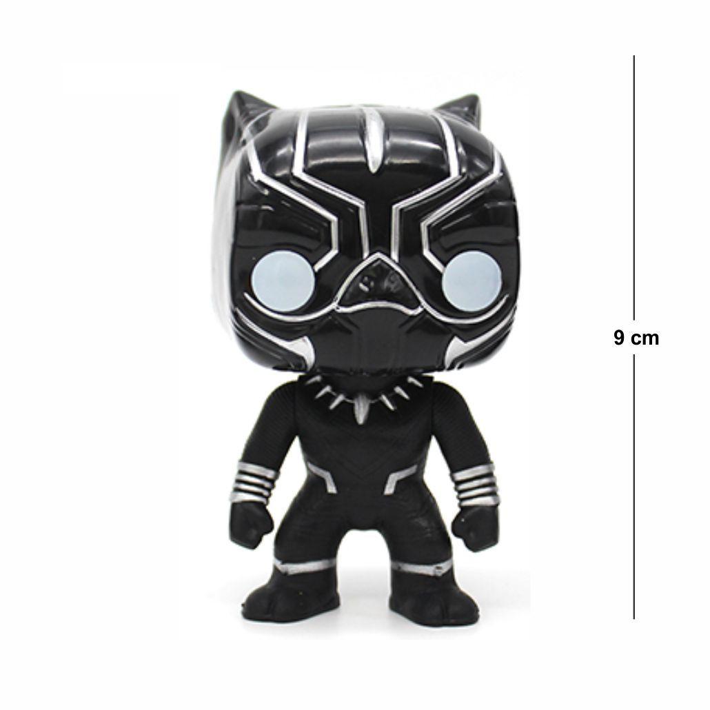Action Figure Pantera Negra 9CM