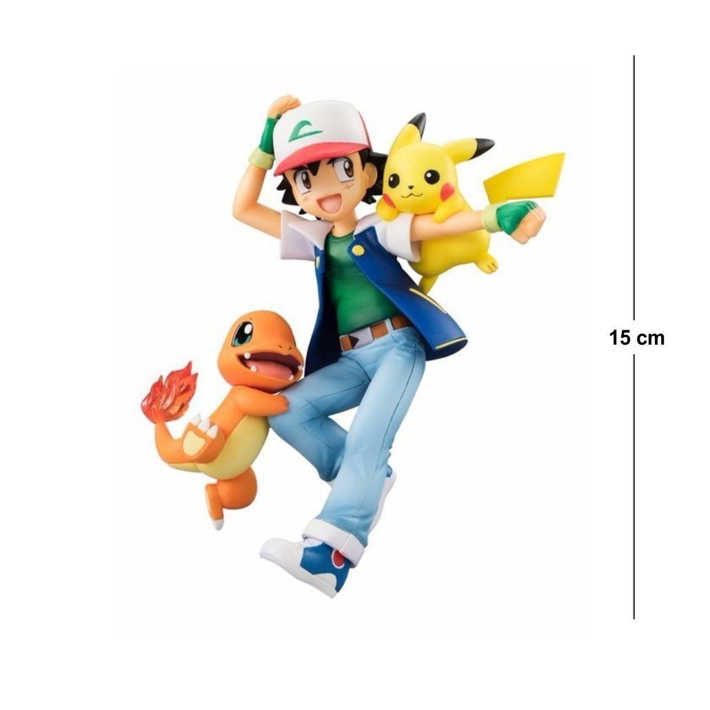 Action Figure Pokemon Ash 15CM PVC