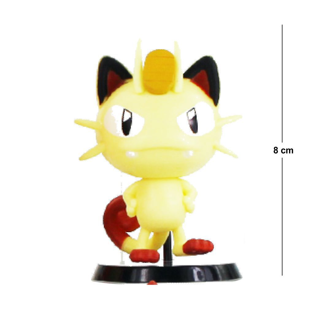 Action Figure Pokemon Meowth 5CM