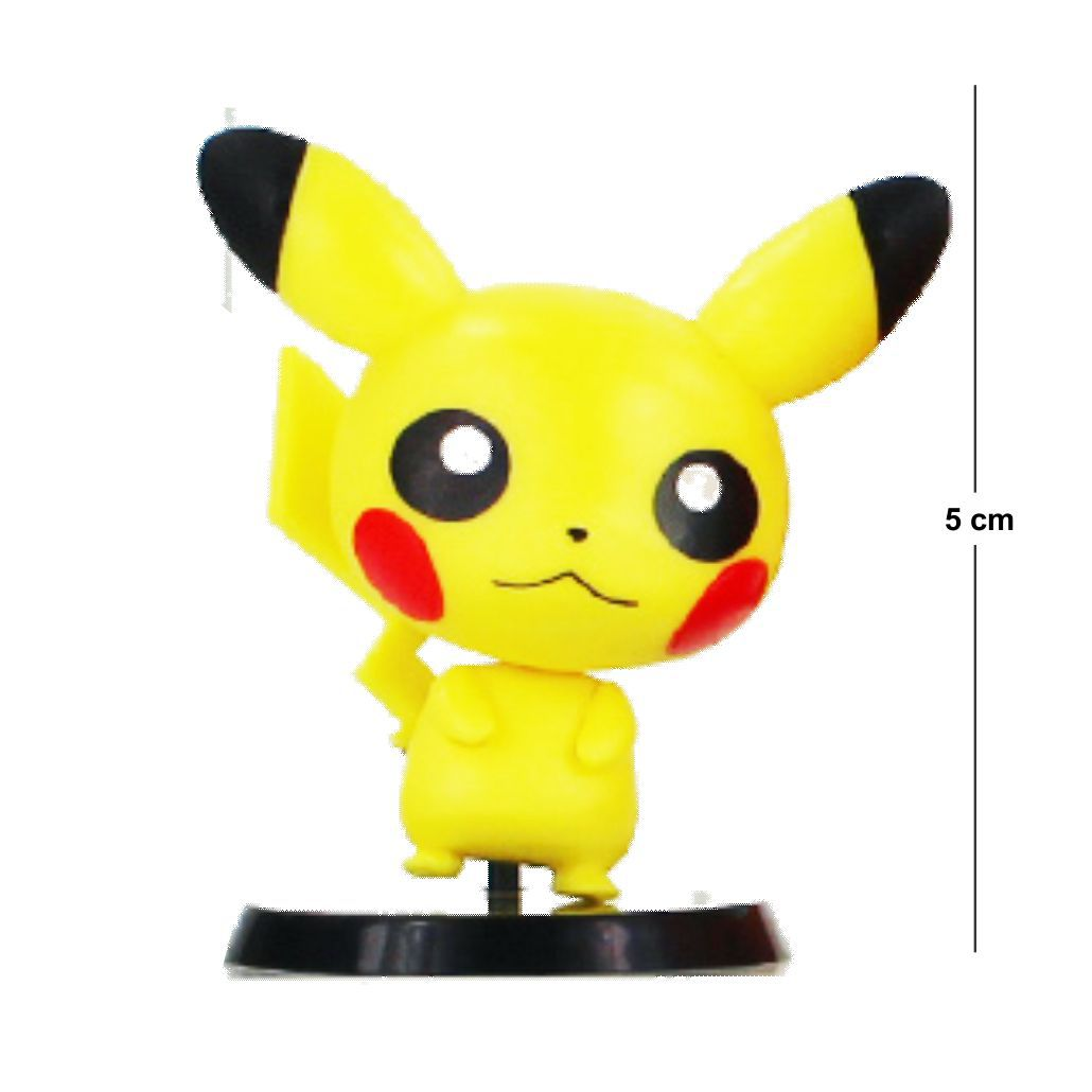 Action Figure Pokemon Pikachu 5CM