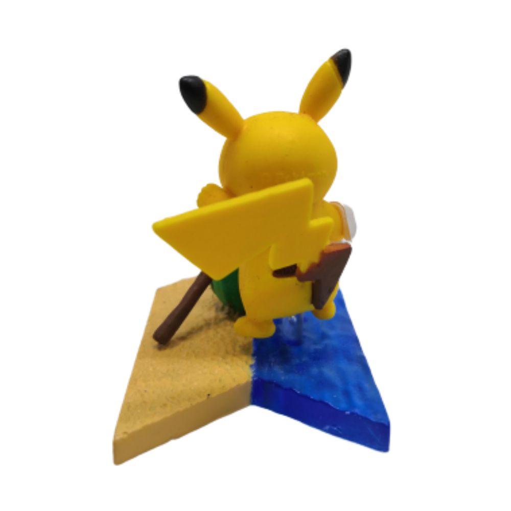 Figure Pikachu na Praia - Pokémon - 4CM