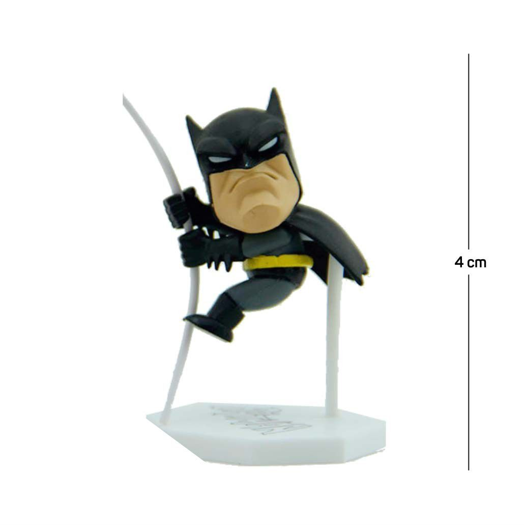 Action Figure Porta Bilhete Batman 5CM PVC
