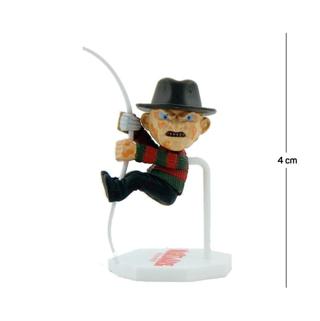 Action Figure Porta Bilhete Freddy Krueger 5CM PVC