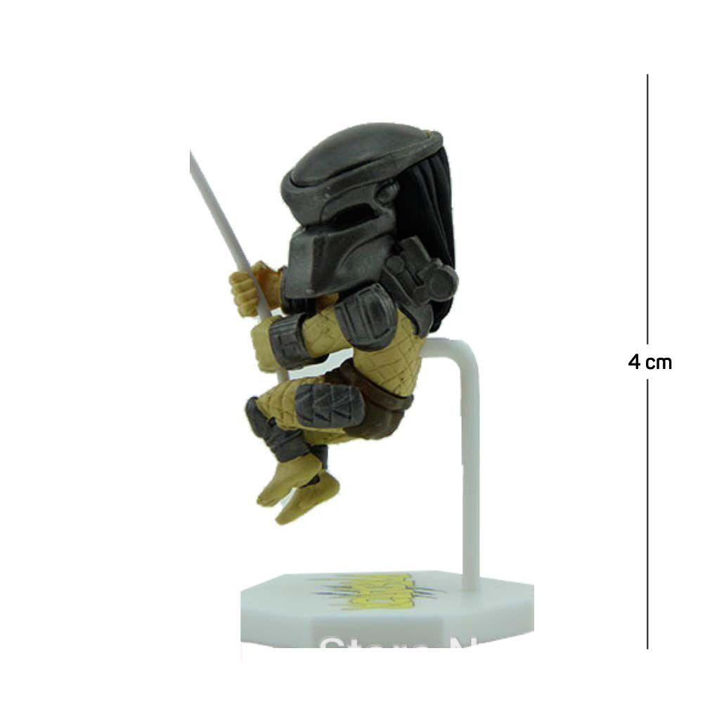 Action Figure Porta Bilhete Predator 5CM PVC