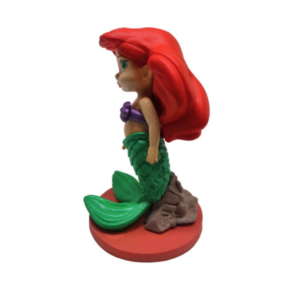 Figure Princesa Ariel - Disney A Pequena Sereia - 7CM