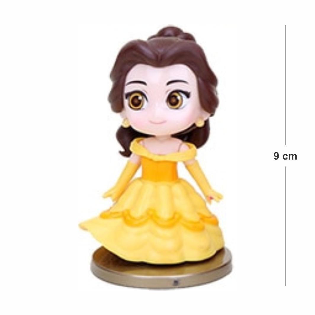 Action Figure Princesas Bela e a Fera Bella mod. 2 8CM