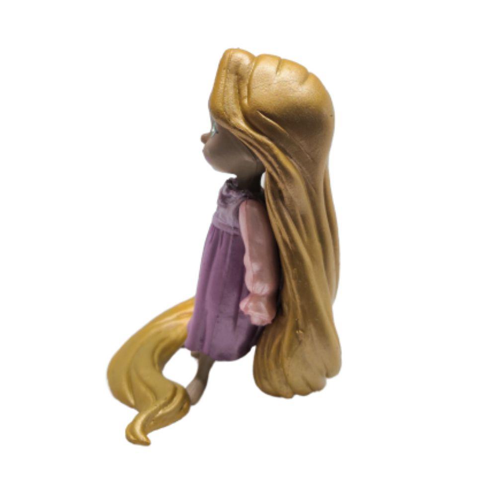 Figure Princesa Rapunzel - Disney Enrolados - 7CM