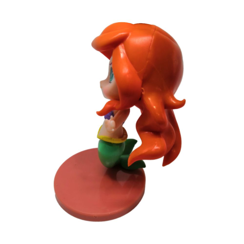 Figure Princesa Ariel - Disney A Pequena Sereia - 8CM