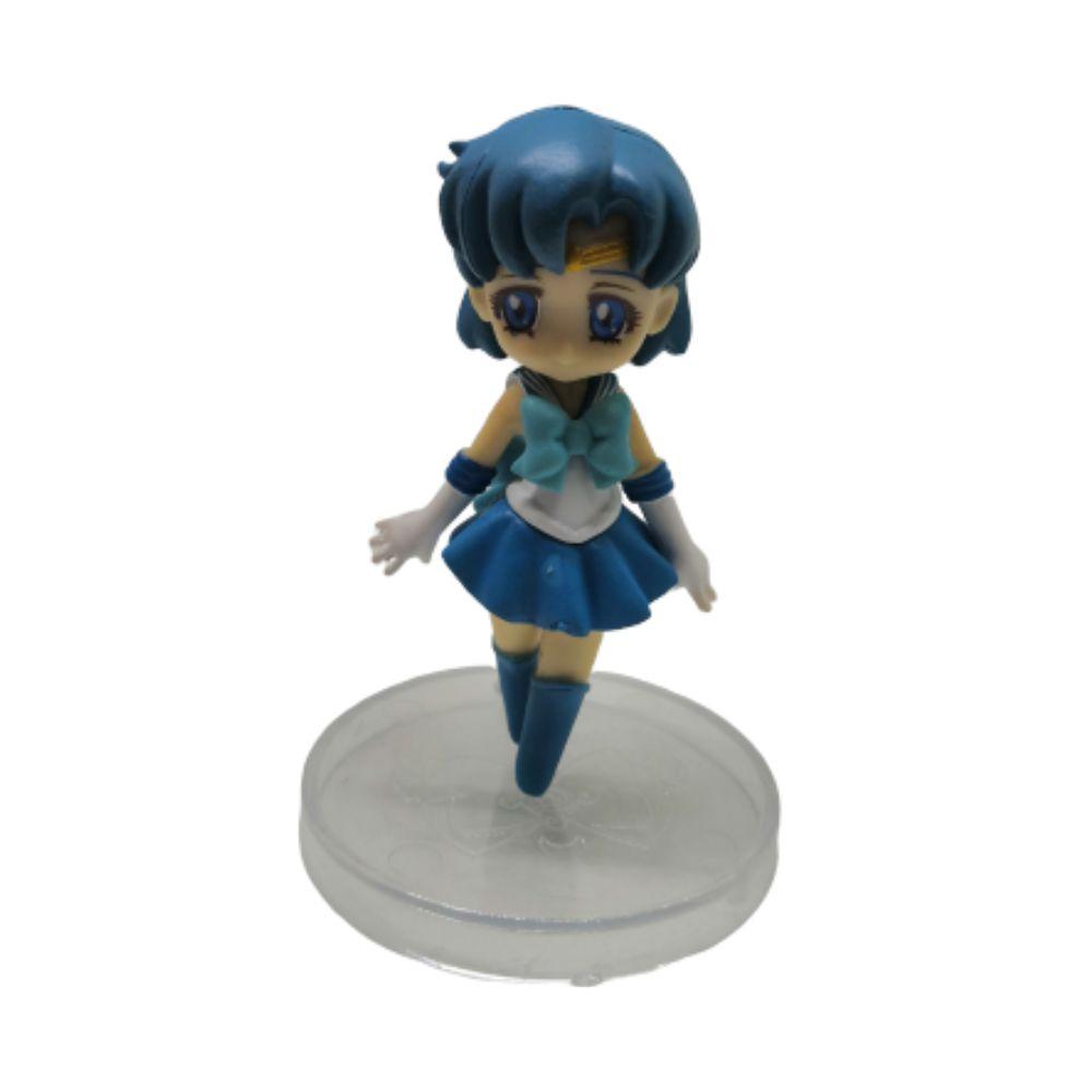 Figure Sailor Mercúrio Ami Mizuno - Sailor Moon - 7CM