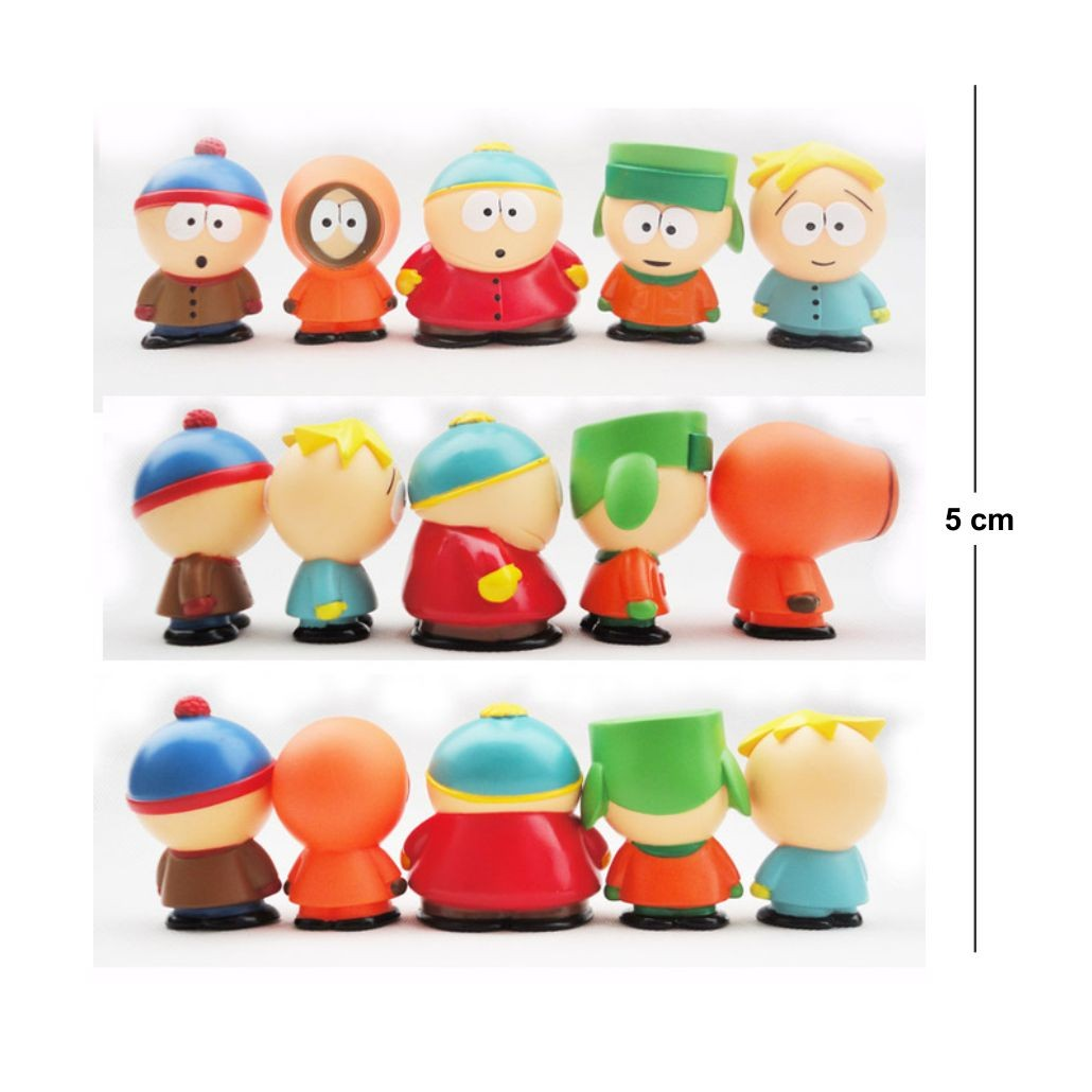 Action Figure South Park Kit (5PÇS)