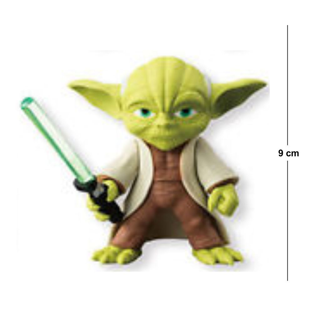 Action Figure Star Wars Mestre Yoda 5CM PVC