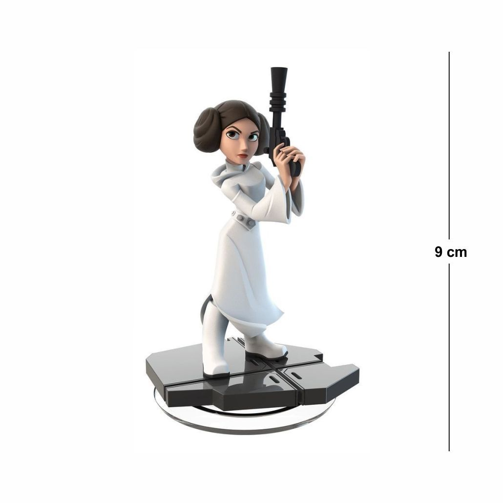 Action Figure Star Wars Princesa Lia 9CM PVC