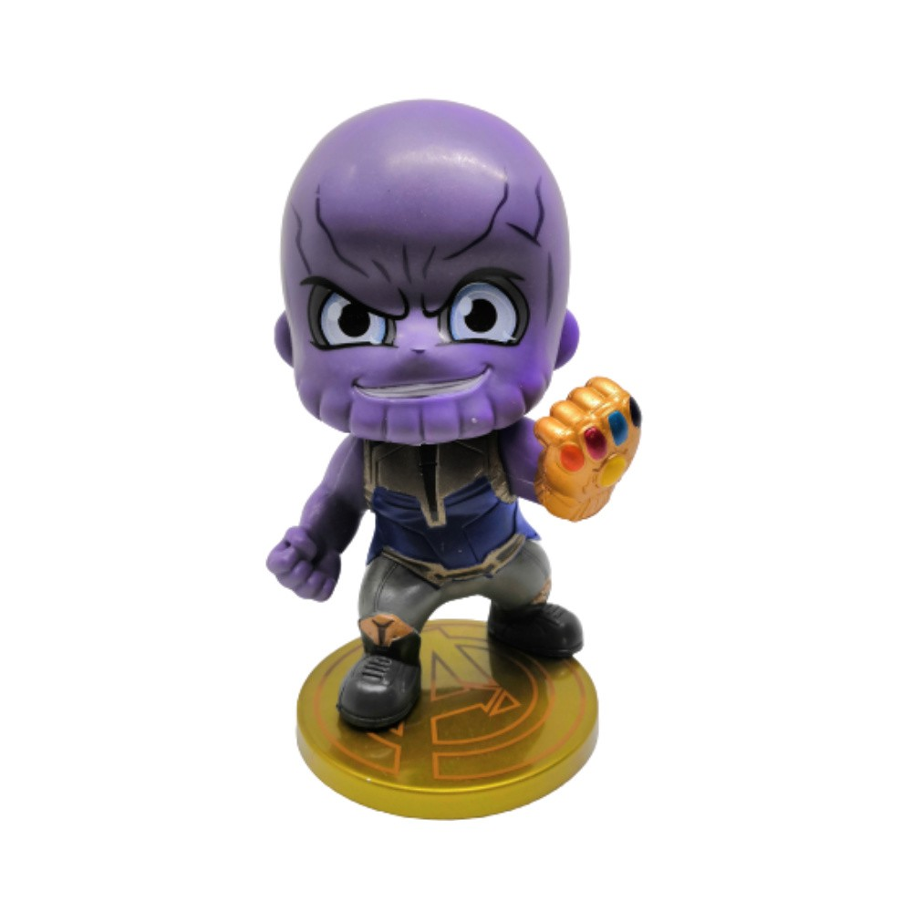 Figure Thanos - Vingadores Marvel - 9CM