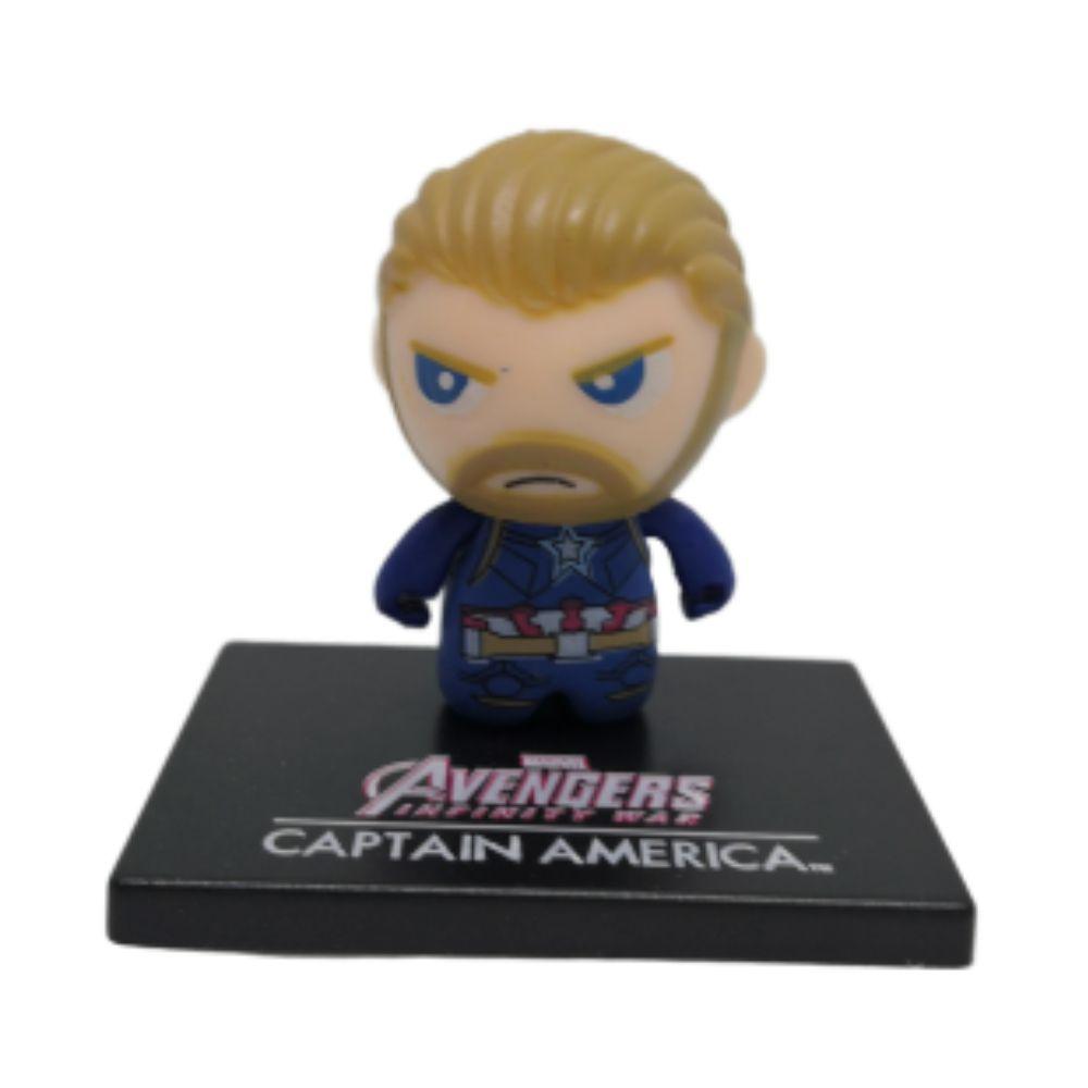 Figure Chibi Capitão América - Vingadores Marvel - 3CM