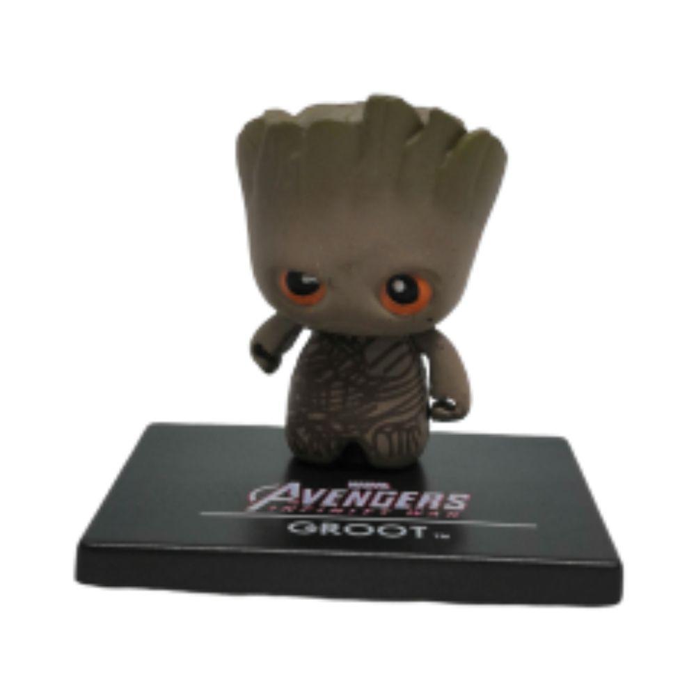 Figure Chibi Groot - Vingadores Marvel - 3CM