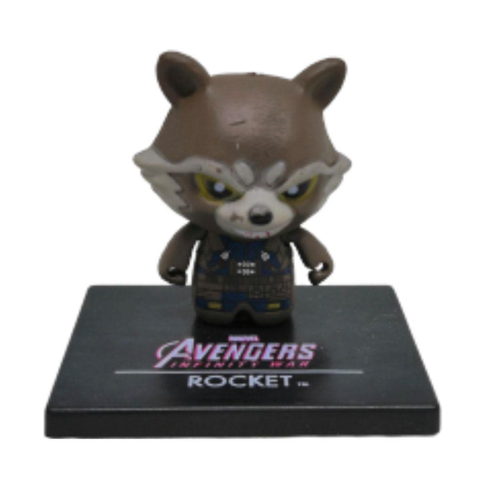 Figure Chibi Rocket Raccoon - Vingadores Marvel - 3CM