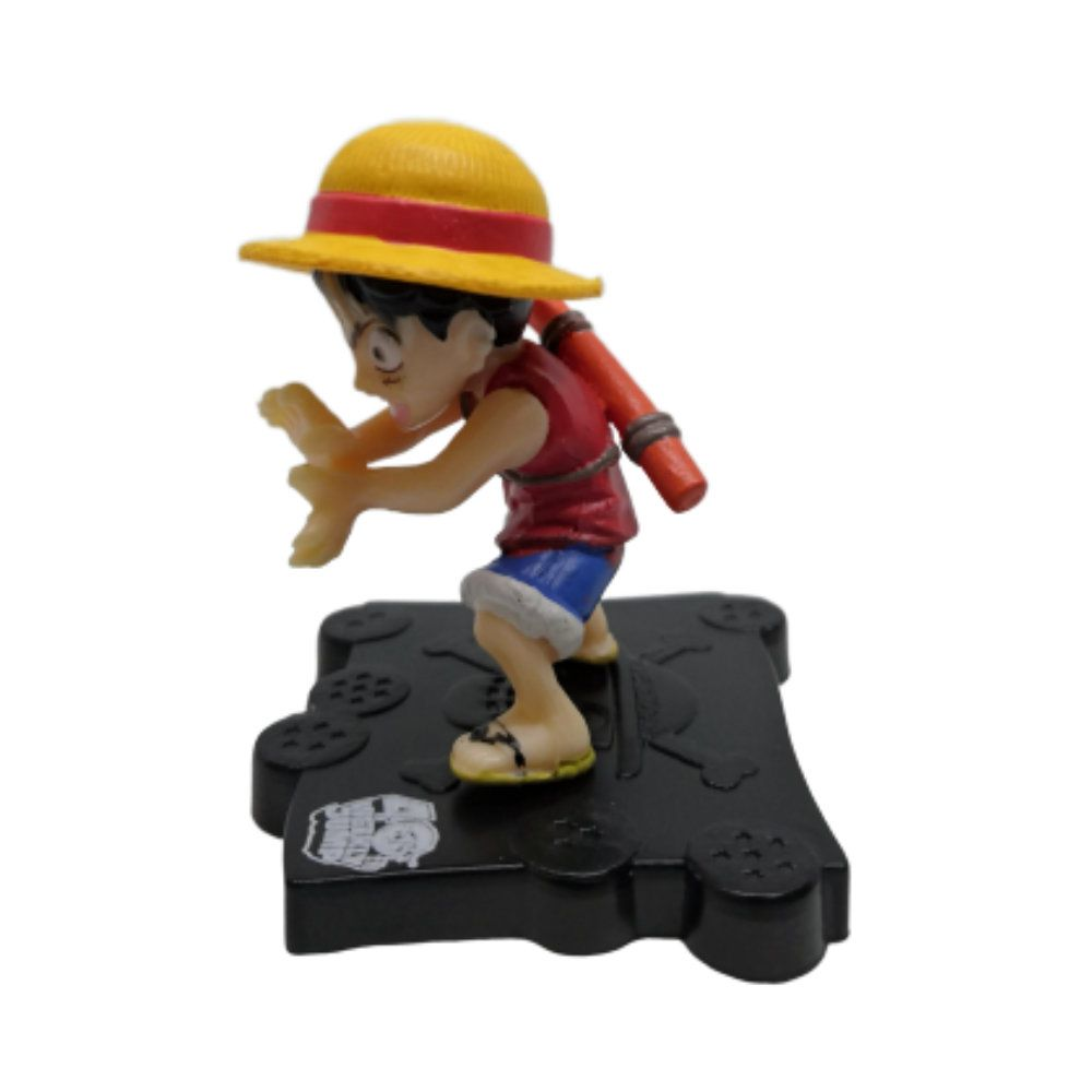 Figure Luffy Kamehameha - One Piece E Dragon Ball - 5CM