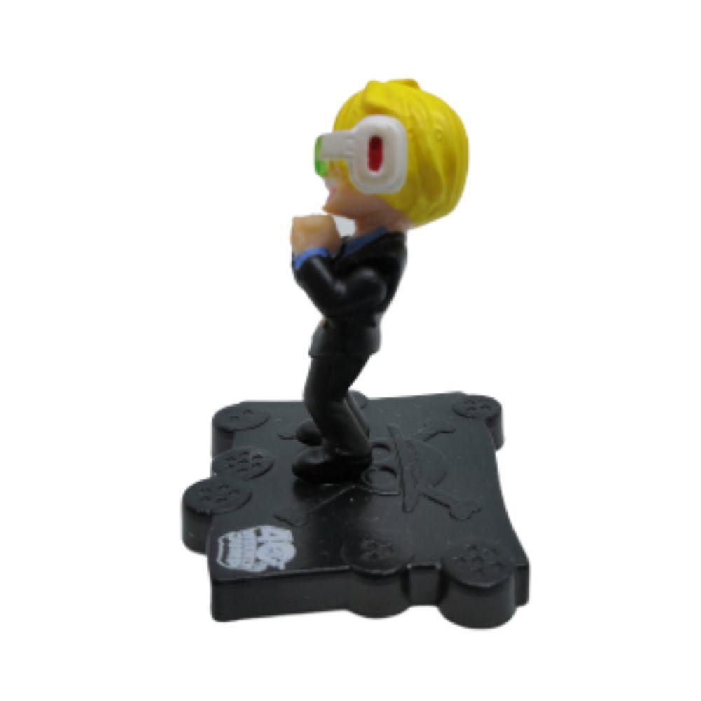 Figure Sanji Saiyajin - One Piece E Dragon Ball - 5CM