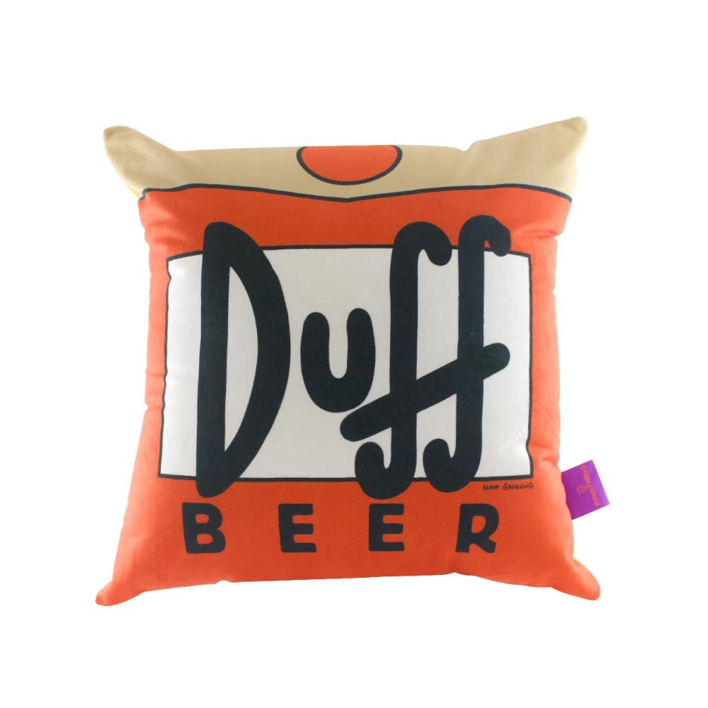 Almofada Duff Beer - Os Simpsons - 40X40 (Veludo)