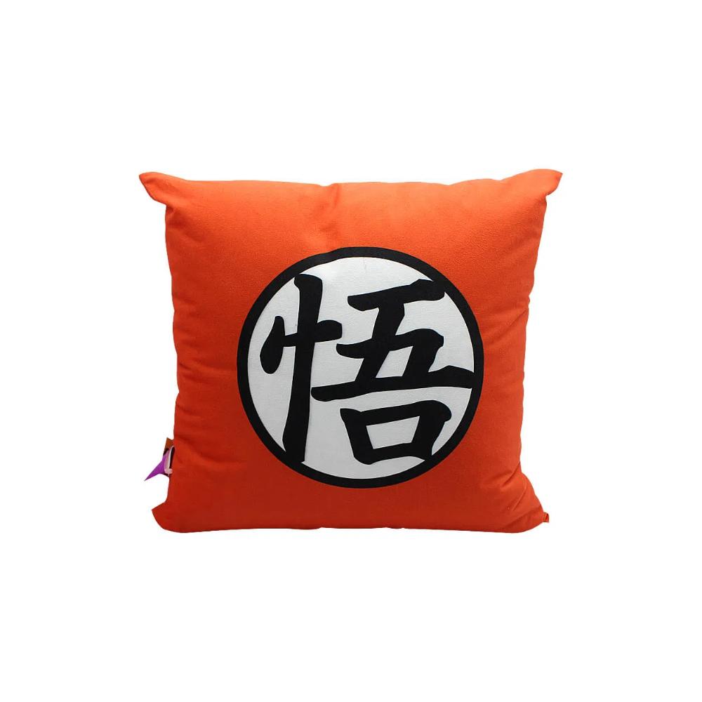 Almofada Goku Símbolo - Dragon Ball - 40X40 (Veludo)