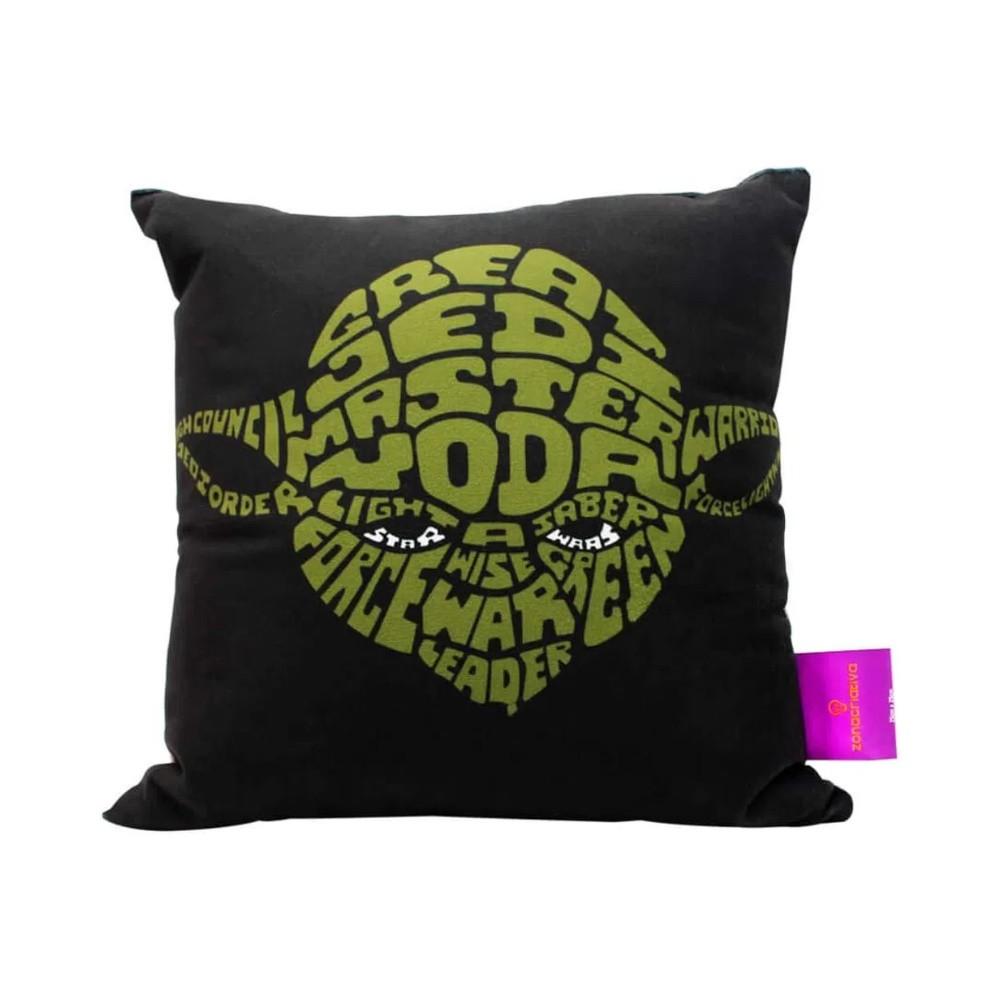 Almofada Mestre Yoda - Star Wars - 25X25