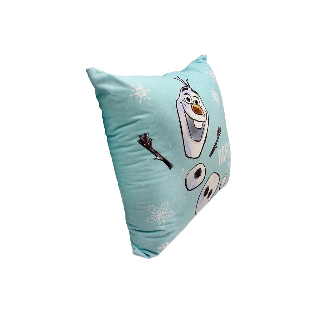 Almofada Olaf - Frozen - 40X40 (Veludo)