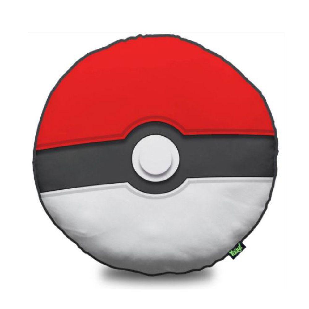 Almofada Redonda Pokebola - Pokémon - 40X40