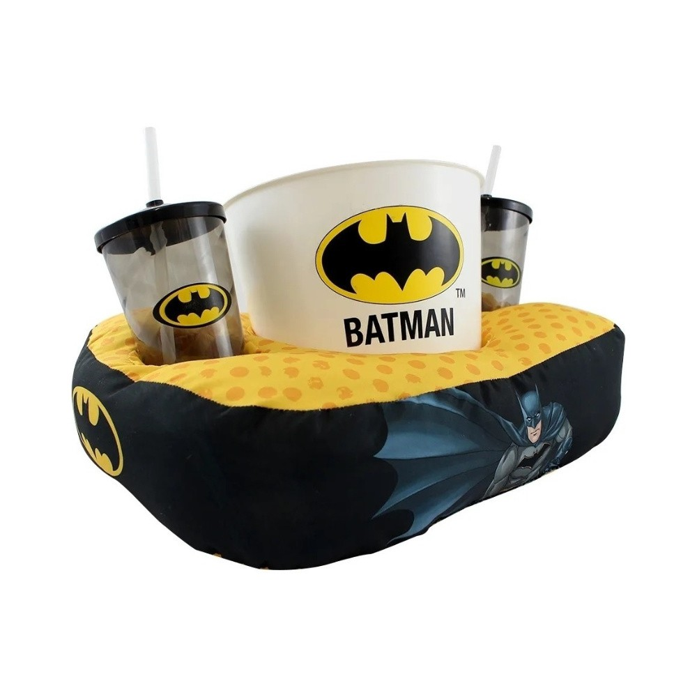 Almofada Porta Pipoca - Batman - DC Comics