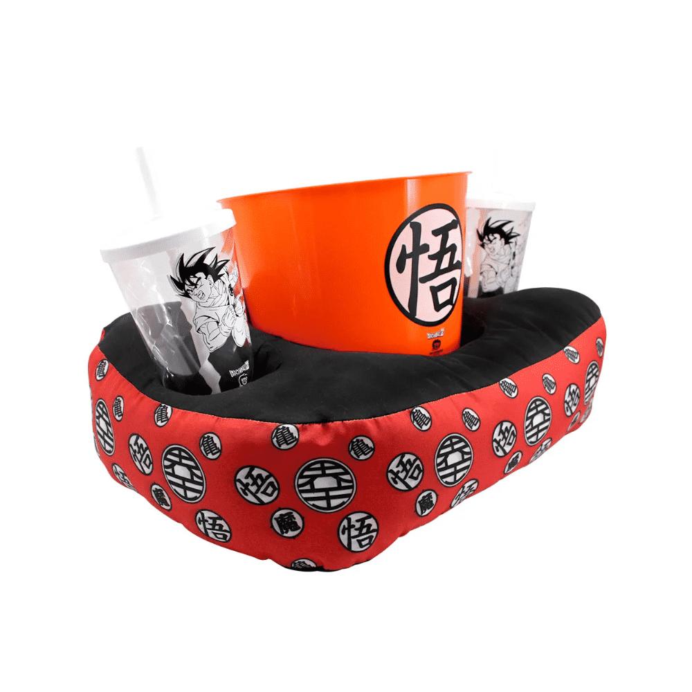 Almofada Porta Pipoca Goku - Dragon Ball