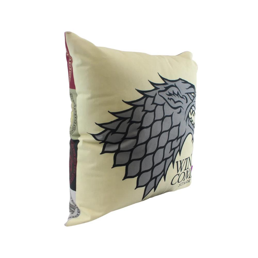Almofada Stark - Game of Thrones - 40X40 (Veludo)