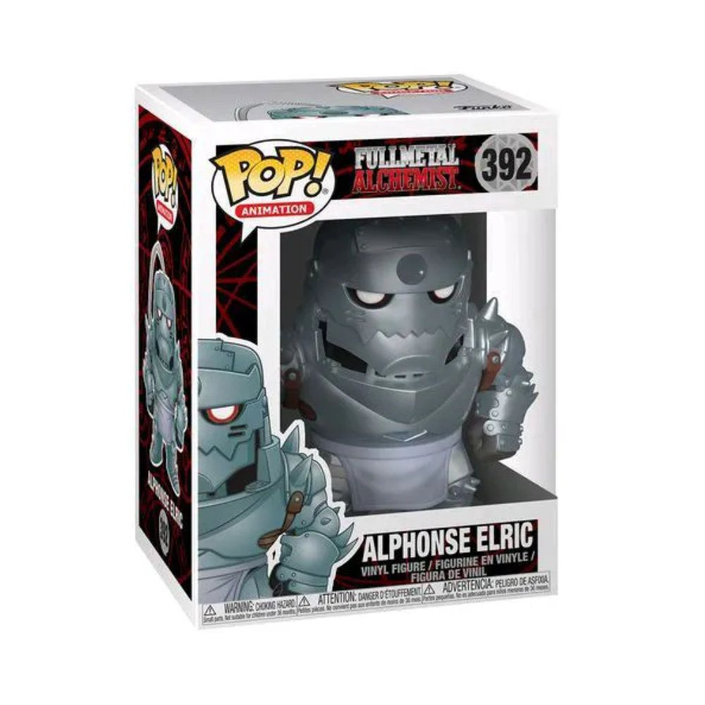 POP! Funko - Alphonse Elric 392 - Fullmetal Alchemist