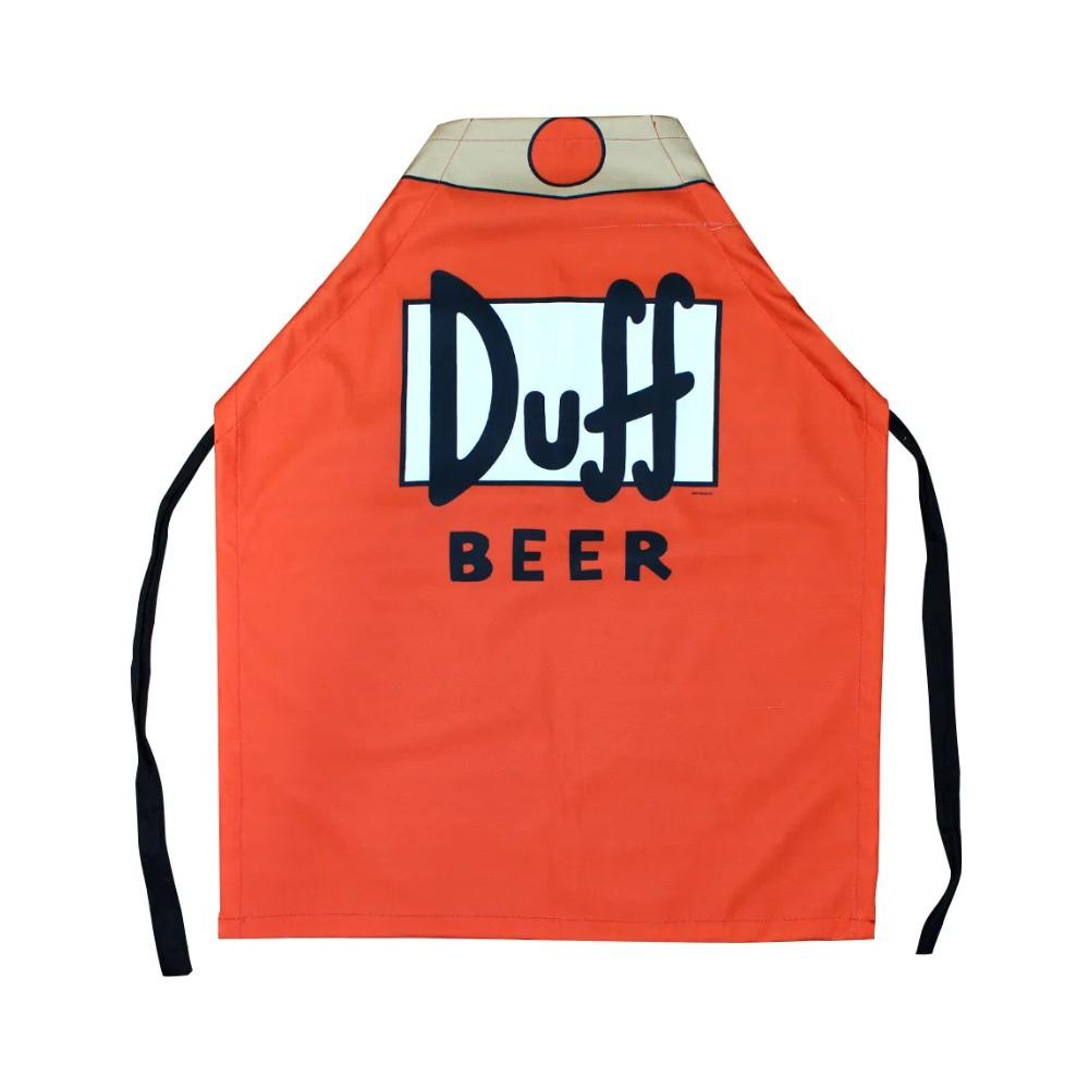 Avental Geek - Duff Beer - The Simpsons - Poliéster