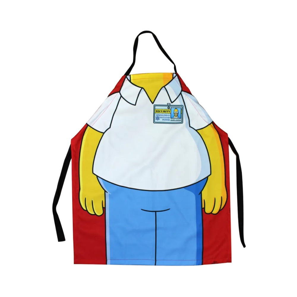 Avental Homer Simpson - The Simpsons - Poliéster
