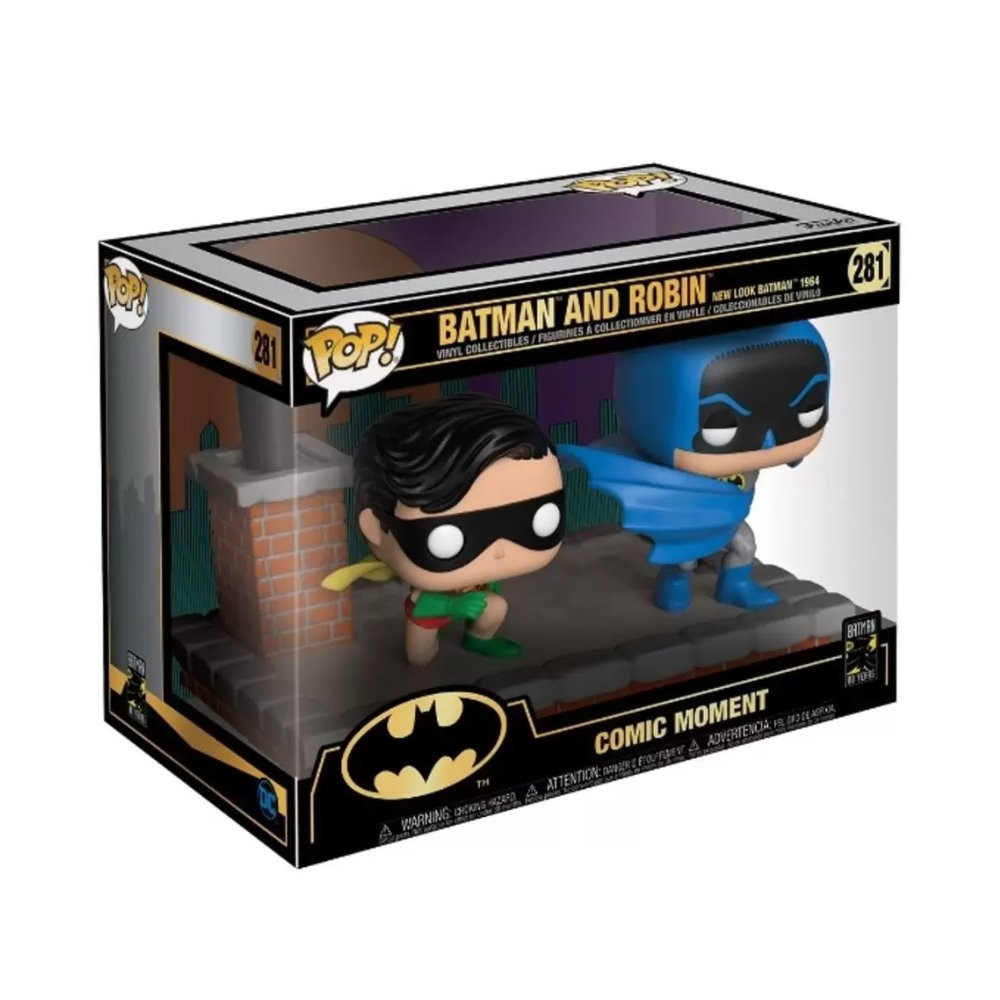 POP! Funko - Batman and Robin 281 New Look 1964 - Comic Moments - Batman and Robin