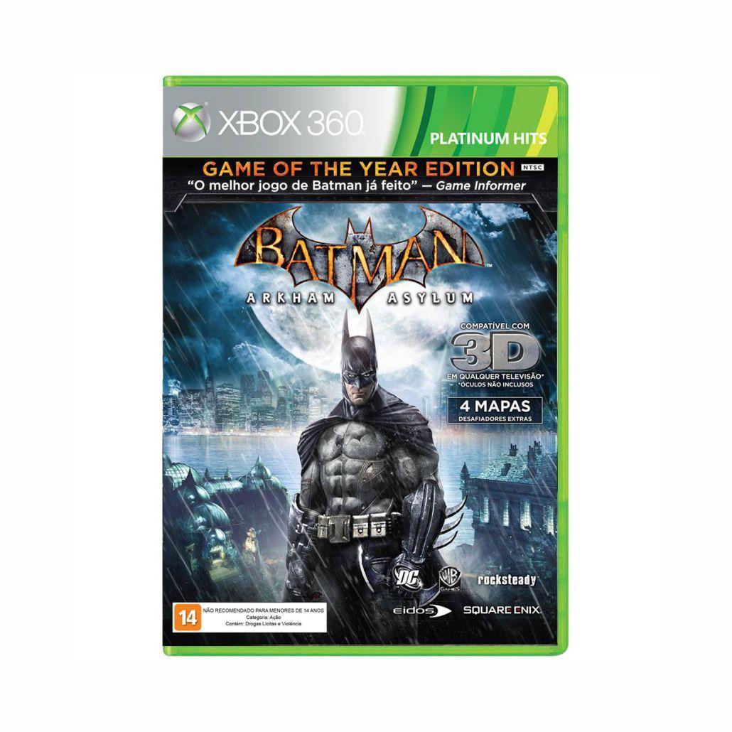 Batman Arkham Asylum - Xbox 360