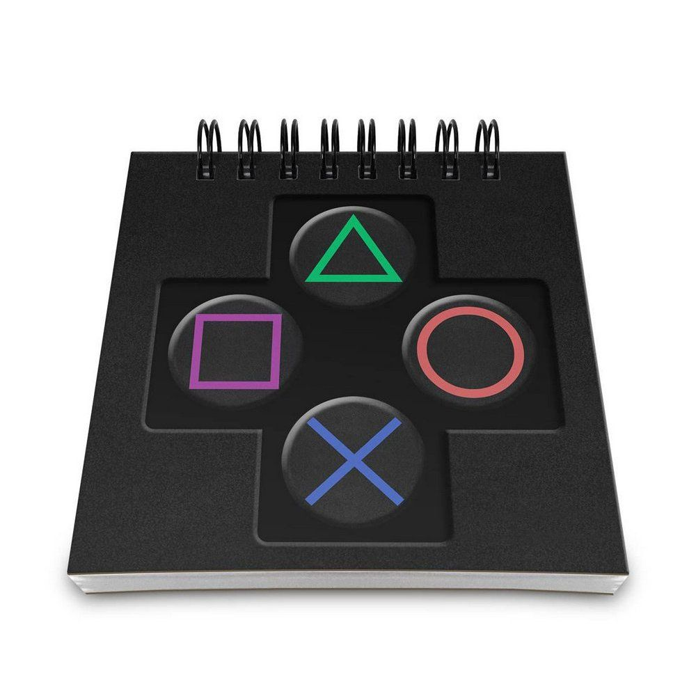 Bloco de Anotações PlayStation - Sony - 9X9