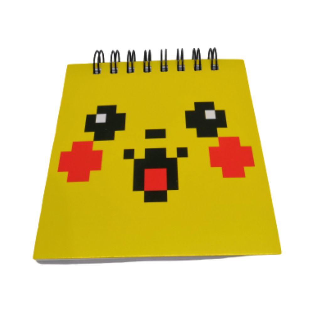 Bloco de Anotações Pikachu - Pokémon - 9X9