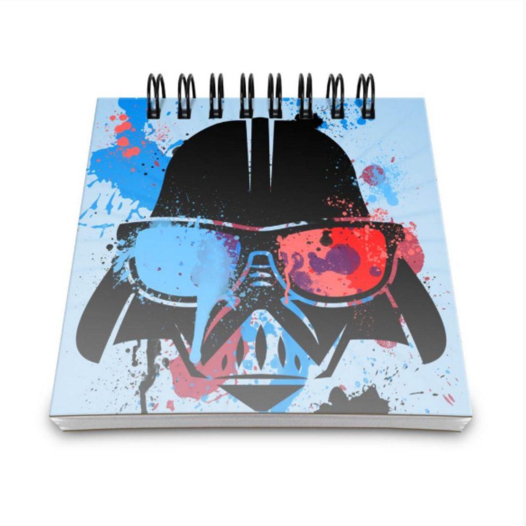 Bloco de Anotações Star Wars Darth Vader