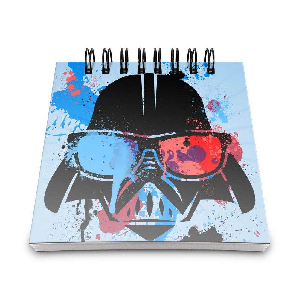 Bloco de Anotações Darth Vader - Star Wars - 9X9