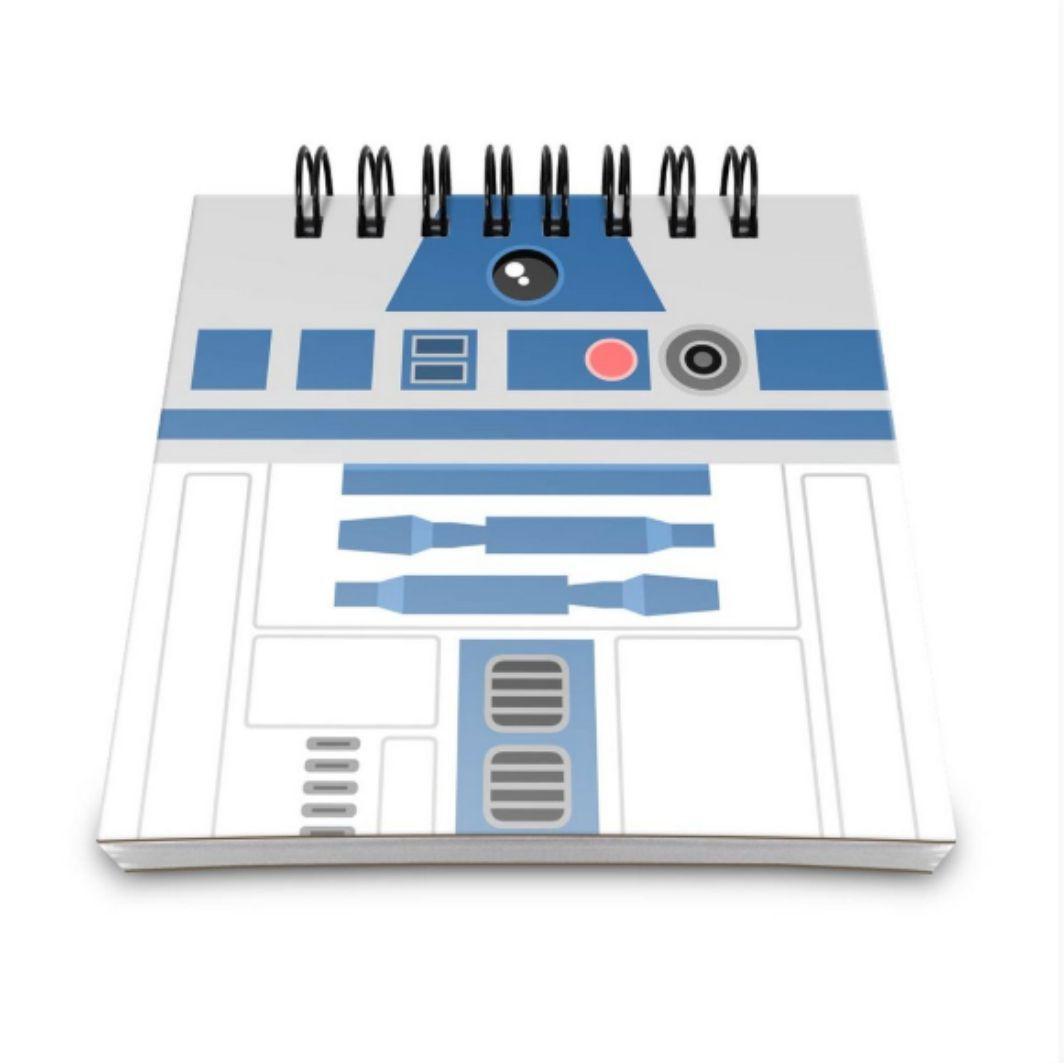 Bloco de Anotações Star Wars R2D2