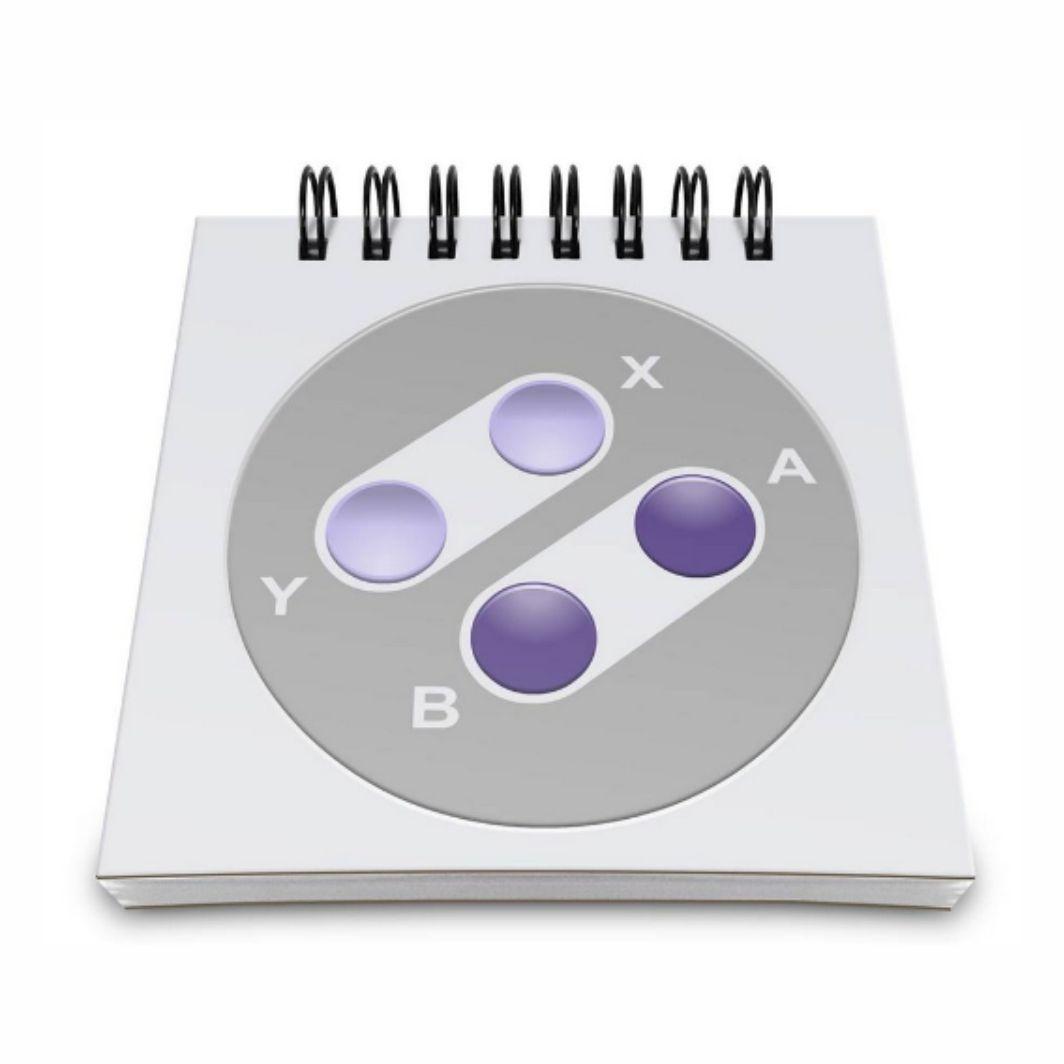 Bloco de Anotações Super Nintendo