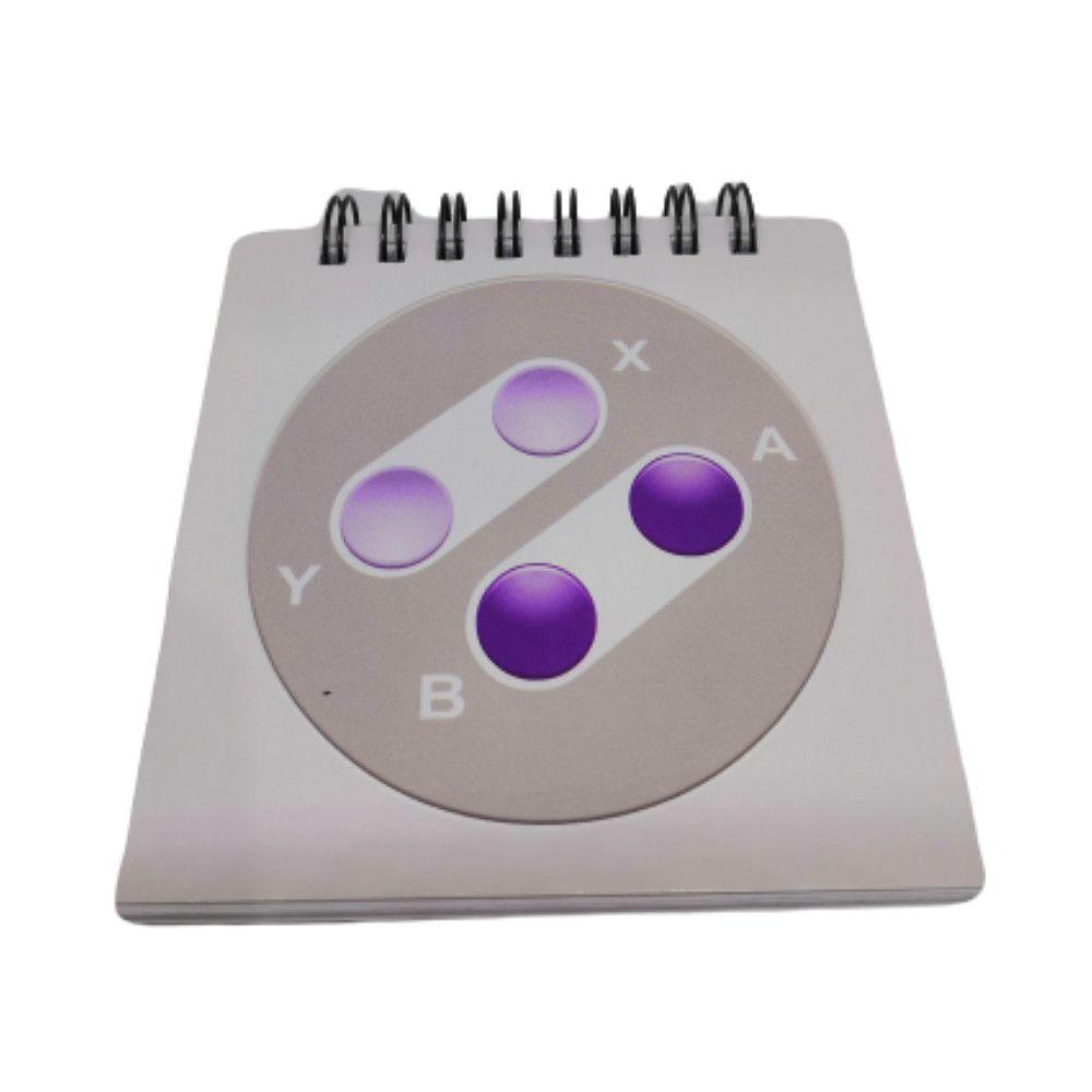 Bloco de Anotações Super Nintendo - 9X9